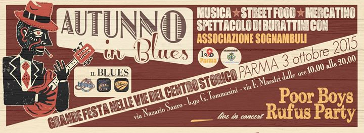 # CHESSSIFAPARMA – AUTUNNO IN BLUES