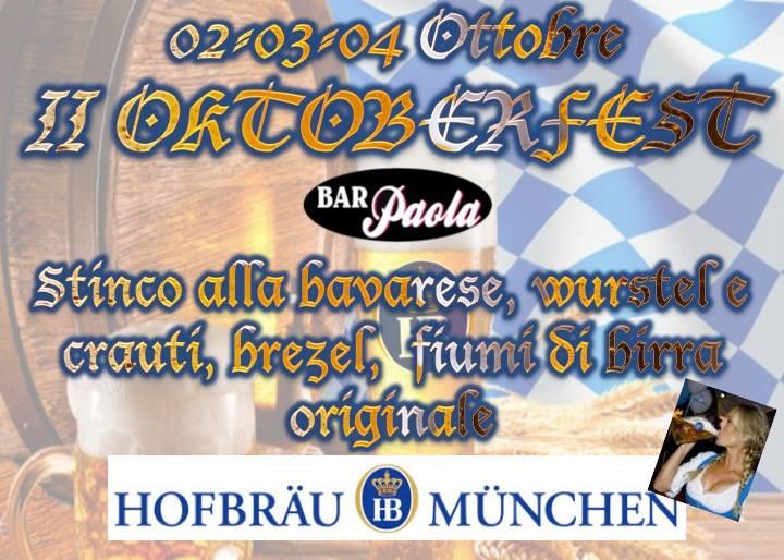 # CHESSSIFAPIACENZA – Oktoberfest Bar Paola