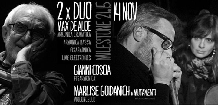 # CHESSSIFA – DE ALOE – GOIDANICH – COSCIA @ MILESTONE