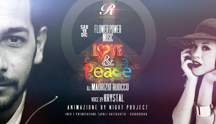 Sabato 19 Dicembre FLOWER POWER è UN MISTO DI MUSICA, AMORE E PACE!! Questo è il sabato notte al River Disco Club a Soncino!