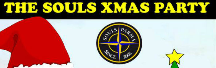 # CHESSSIFAPARMA – THE SOULS XMAS PARTY @ ARCI MCQUEEN