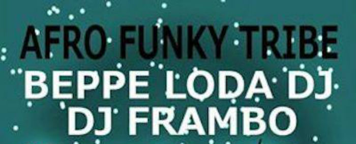 # CHESSSIFAPARMA – AFRO FUNKY TRIBE @ COLOMBOFILI