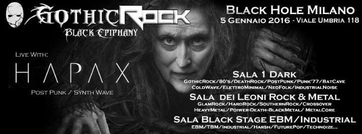 # CHESSSIFAMILANO – GOTHIC ROCK BLACK EPIPHANY @ BLACK HOLE