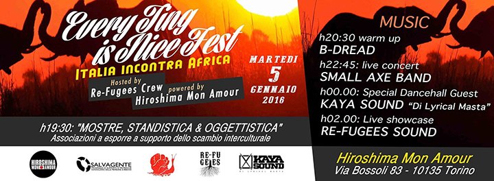 # CHESSSIFATORINO – REGGAE PARTY @ HIROSHIMA MON AMOUR