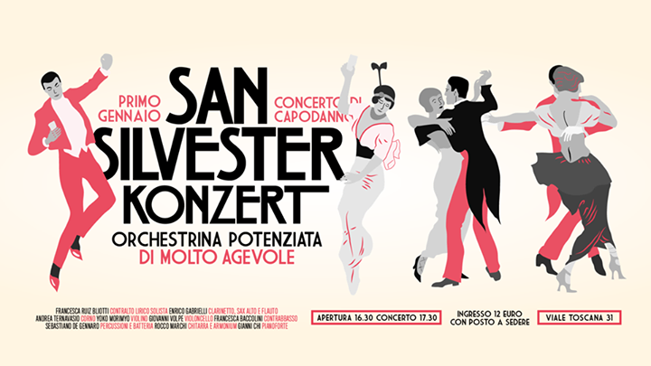 # CHESSSIFAMILANO – San Silvester Konzert @ SANTERIA SOCIAL CLUB