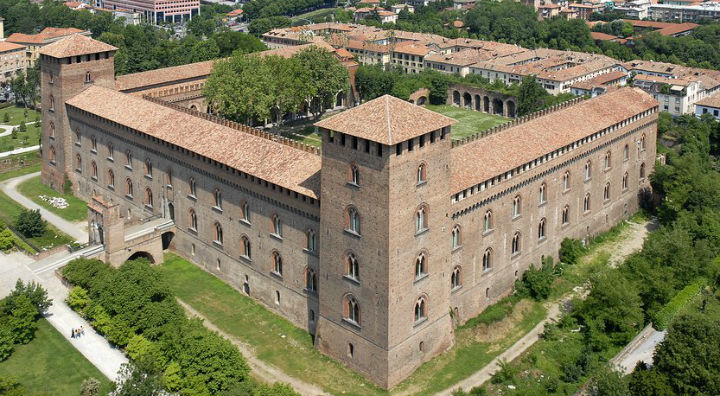CASTELLO VISCONTEO PAVIA SEMIami piantami