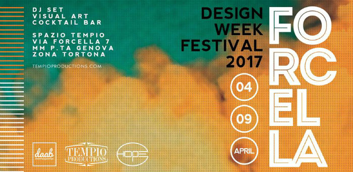 Forcella Design Week Festival 2017