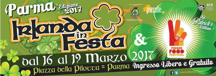 IRLANDA IN FESTA FINGER FOOD FESTIVAL 16 19 MARZO 2017 PIAZZA DELLA PILOTTA Festivalozzi Primaverili