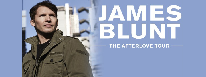 James Blunt The Afterlove Tour Eventi, serate..robe