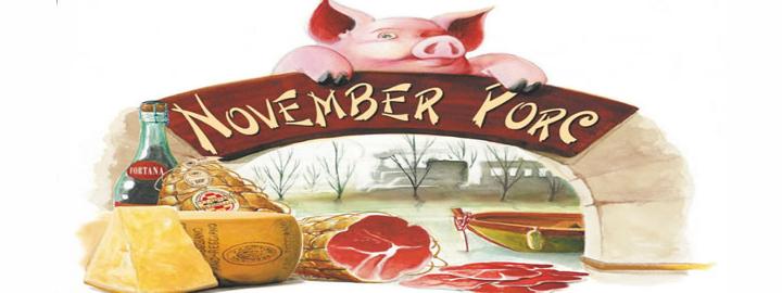 November Porc 2017 Eventi, serate..robe