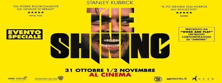 The Shining Eventi, serate..robe
