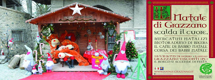 I Mercatini di Natale a Grazzano Visconti Eventi, serate..robe