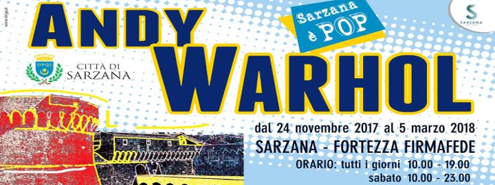 Andy Warhol Sarzana è Pop Eventi, serate..robe
