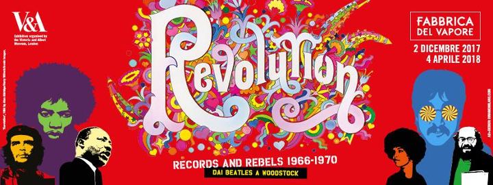 Revolution Musica e ribelli 1966 1970 Dalla Londra dei Beatles a Woodstock Eventi, serate..robe