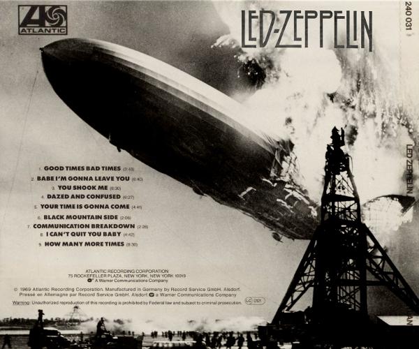 Led Zeppelin 1 CHESSSI(FACEVA)