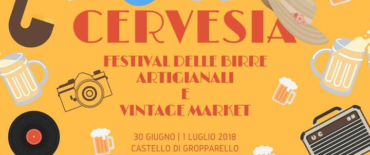 Cervesia Festival delle birre artigianali Vintage Market Eventi, serate..robe