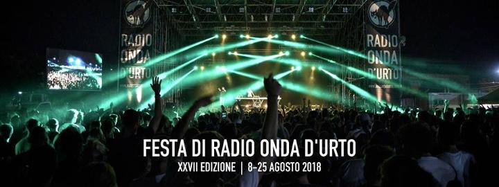 Festa di Radio Onda d'Urto 2018