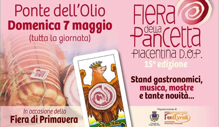 Fiera della Pancetta Piacentina DOP 2018 Eventi, serate..robe