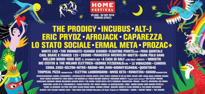 Home Festival 20181 Eventi, serate..robe