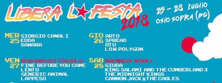 Libera La Festa 20181 Eventi, serate..robe