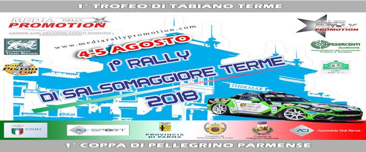 Rally di Salsomaggiore Terme 2018