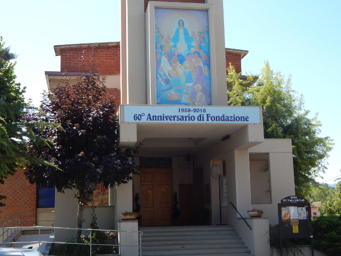 santuario Luci e Polvere di Stelle della Festa paesana di Strà