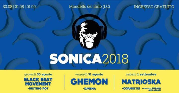 Sonica Festival 201811 Eventi, serate..robe