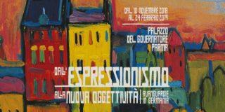 Dall'Espressionismo alla Nuova Oggettività – Avanguardie in Germania