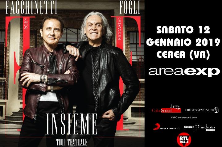 Roby Facchinetti & Riccardo Fogli - Insieme in Tour