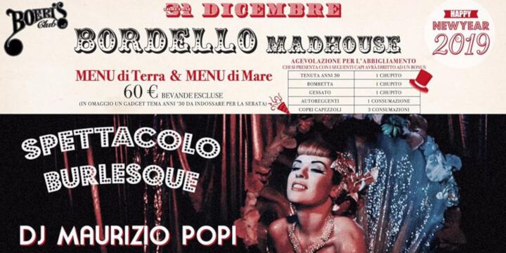 Bordello Madhouse - Happy New Year 2019