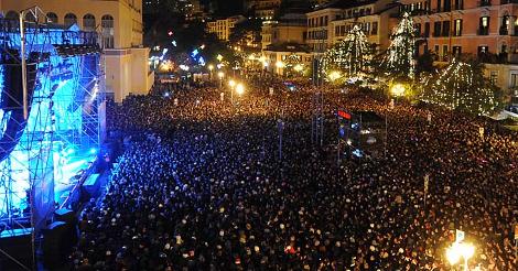 Capodanno live nelle Piazze d'Italia