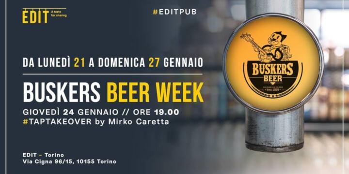 Buskers Beer Week