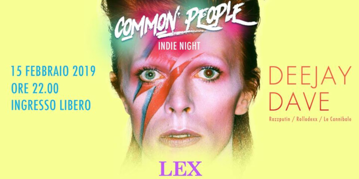 Common People Indie Night