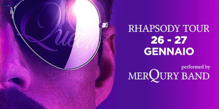 Rhapsody TOUR – Queen Tribute - Merqury Band