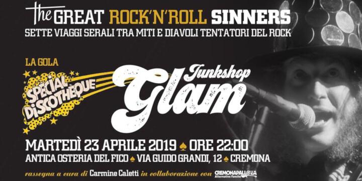 The Great Rock'N'Roll Sinners - La gola - Junkshop Glam