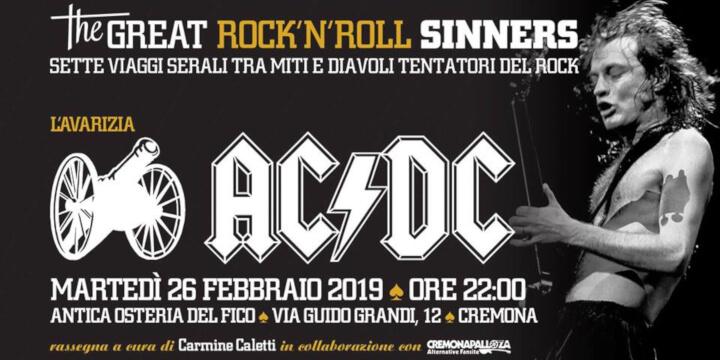 The Great Rock'N'Roll Sinners - L'avarizia - AC/DC