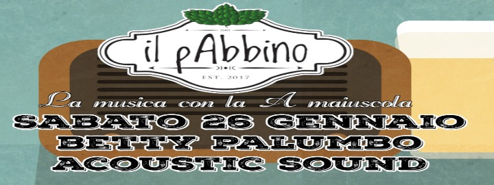 Betty Palumbo acoustic sound live