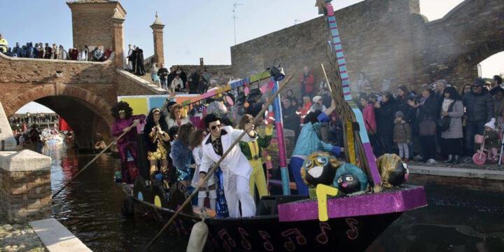 Carnevale sull'Acqua di Comacchio