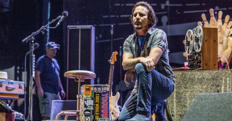 Eddie Vedder al Firenze Rocks 2019