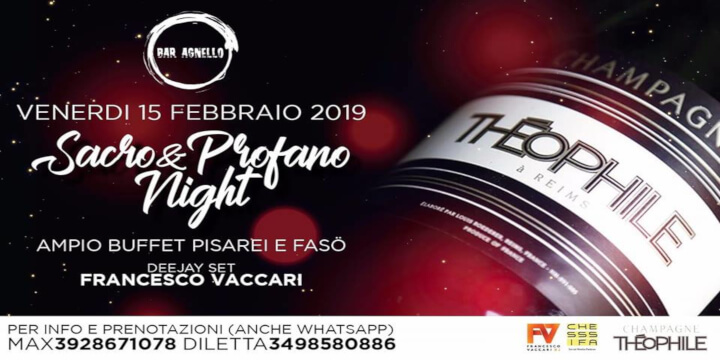 Sacro & Profano Night