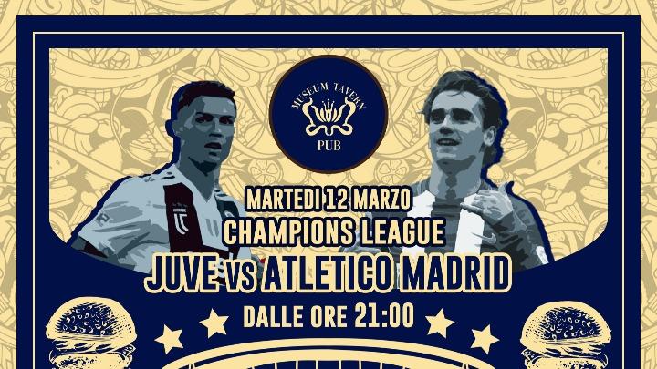 Juventus vs Atletico Madrid live