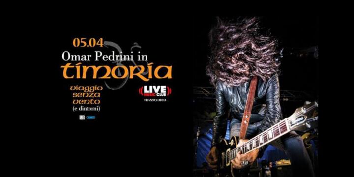 Omar Pedrini in Viaggio Senza Vento - Live Club