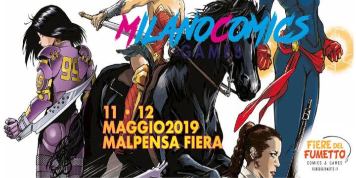 Milano Comics Games 2019 Eventi, serate..robe