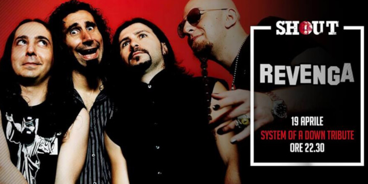 Revenga - System of a Down Tribute live at Shout