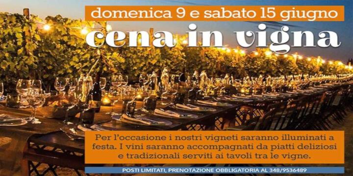 Cena in Vigna