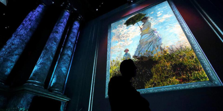 Claude Monet The immersive experience Eventi, serate..robe