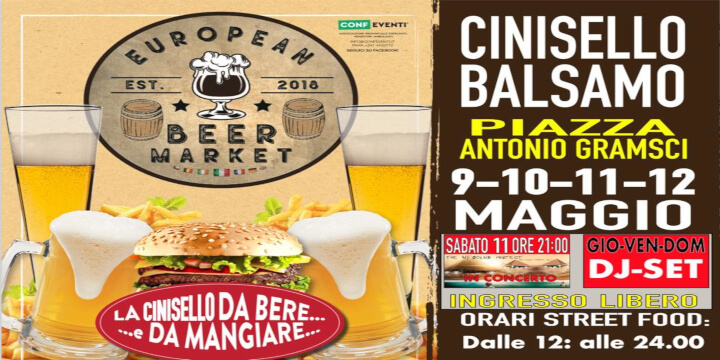 European Beer Market CINISELLO BALSAMO