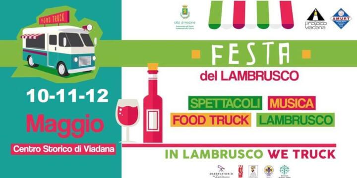 Festa del Lambrusco Food Truck 2019 Eventi, serate..robe