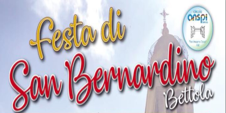 Festa di San Bernardino 2019 Eventi, serate..robe