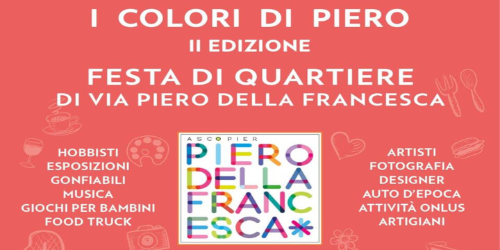 I Colori di Piero Eventi, serate..robe